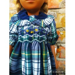 Handmade dress with hand embroidery For Vintage Sasha Dolls