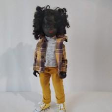 Sasha Doll re-root with human hair