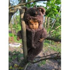 """Suit """"Bear"""" dark brown"""